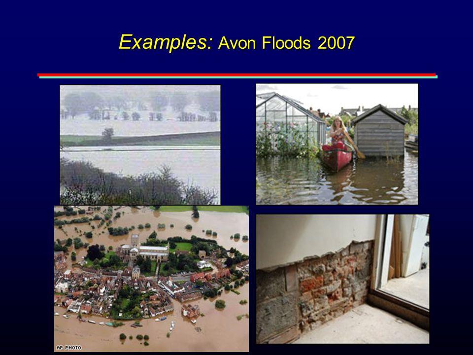 Examples: Avon Floods 2007