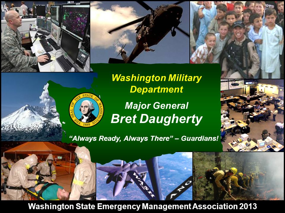 Visit & Participation from the Governor's Executive Management Team and State Agencies EVERGREEN