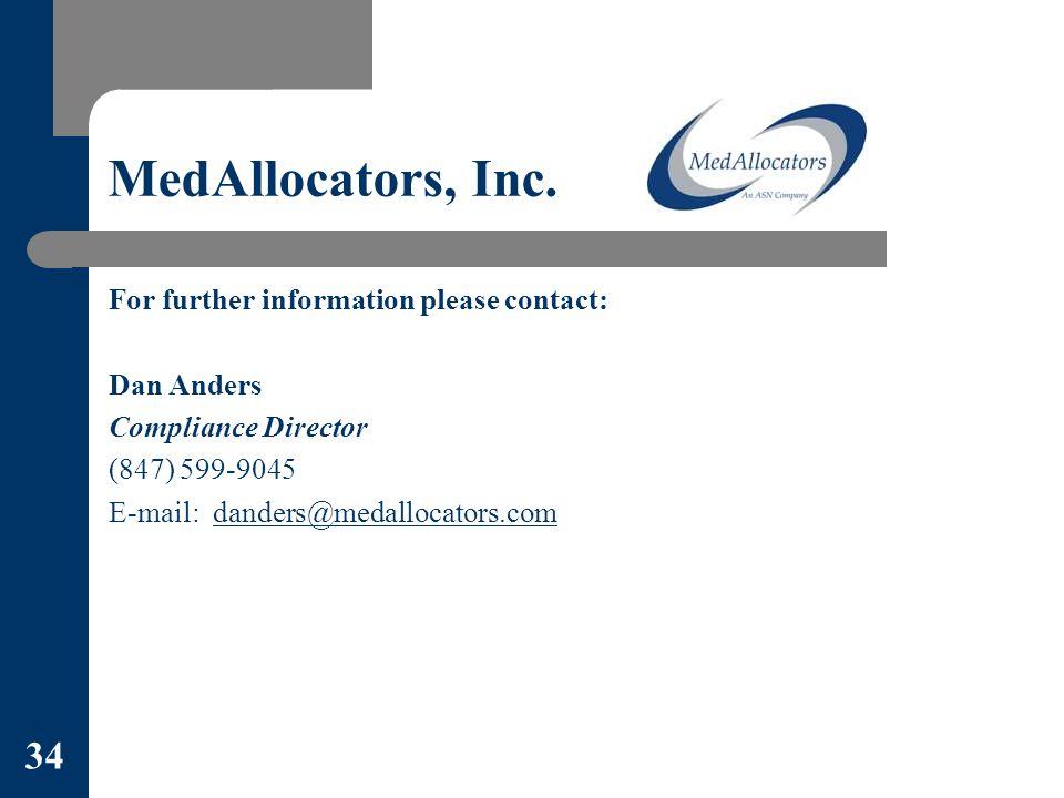 MedAllocators, Inc.