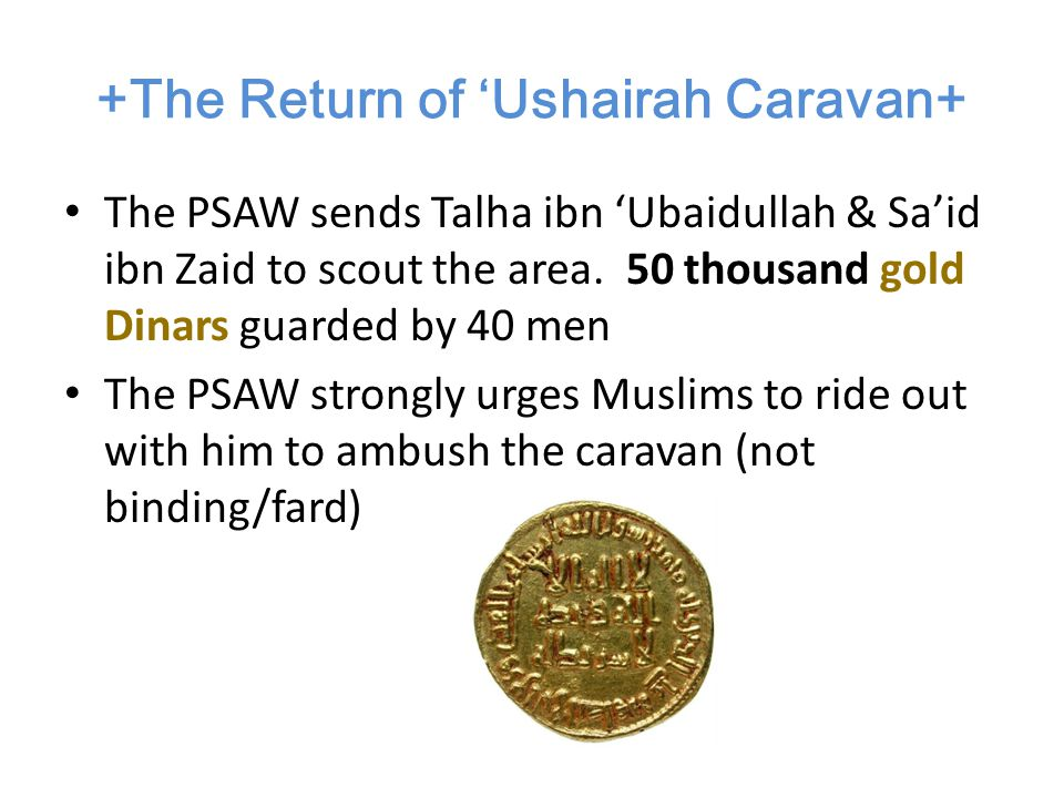 Army of Muslims 300-317 Men 82-86 Muhaajiroon, 61 Aws & 170 Khazraj Only 2 Horses 70 Camels (1/2-3 Men, even Rasoolullah) Gen.