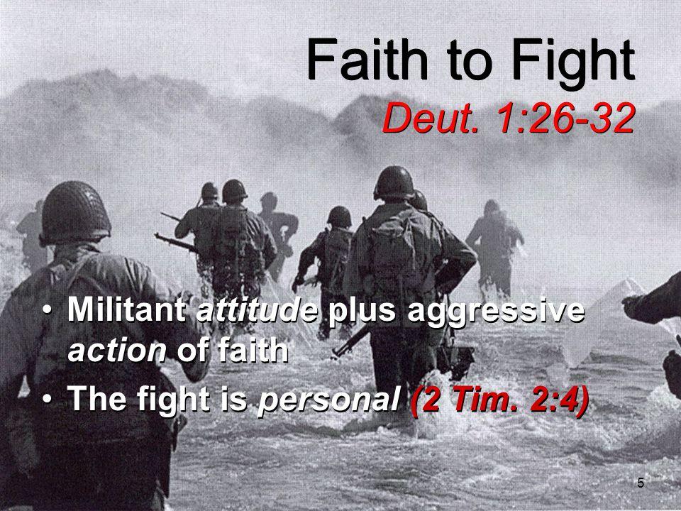 5 Faith to Fight Deut.