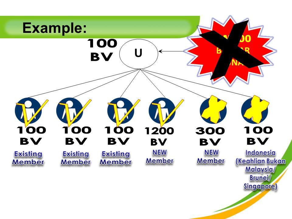 U RM200 BAUCAR TUNAI Example: