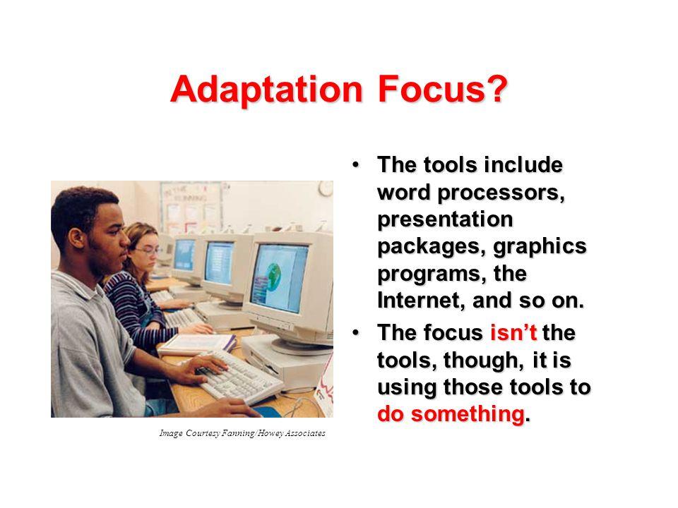 Adaptation Focus.