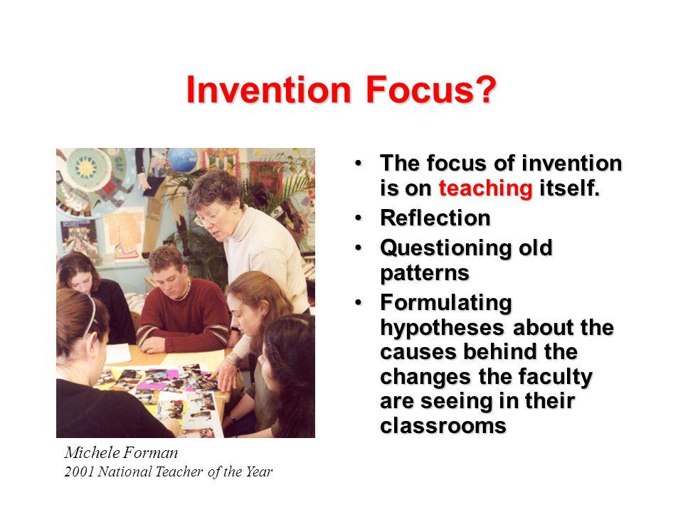 Invention Focus.