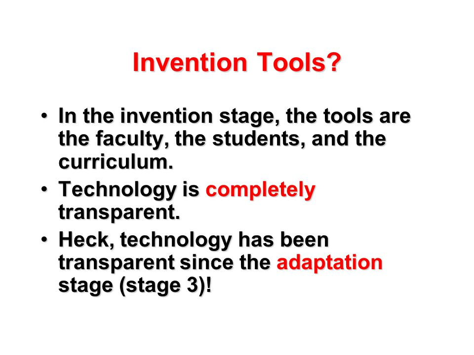 Invention Tools.