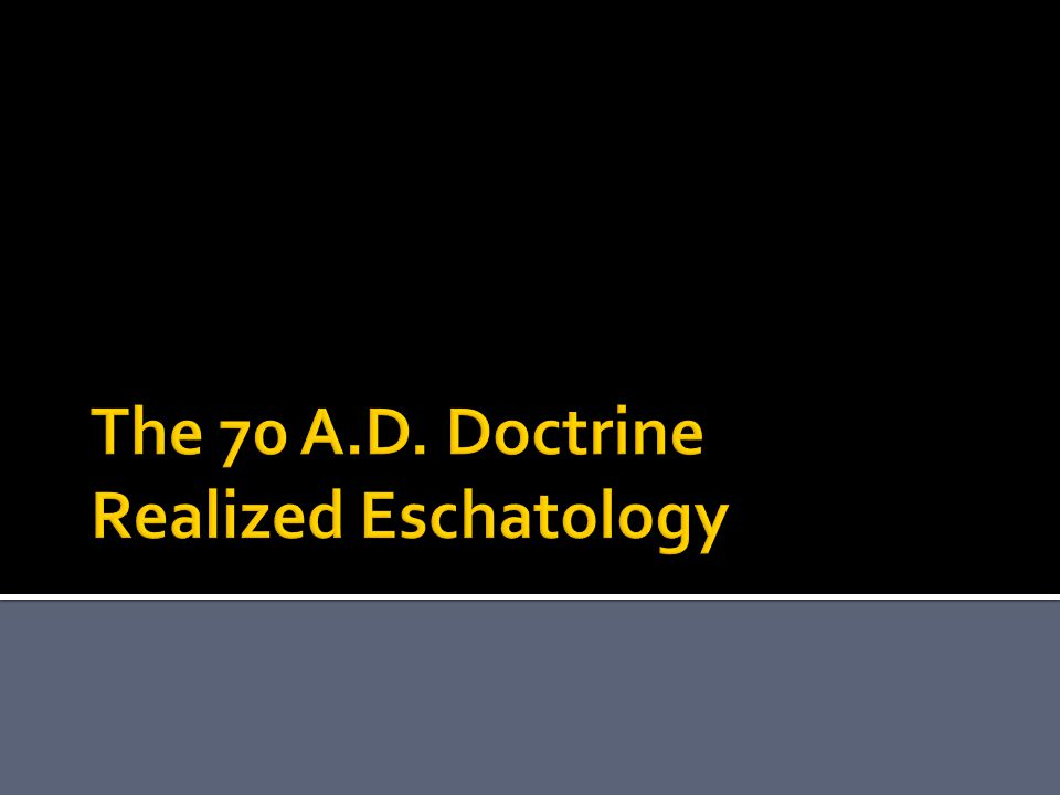  What is the doctrine?  Who are the proponents?  What is the danger?