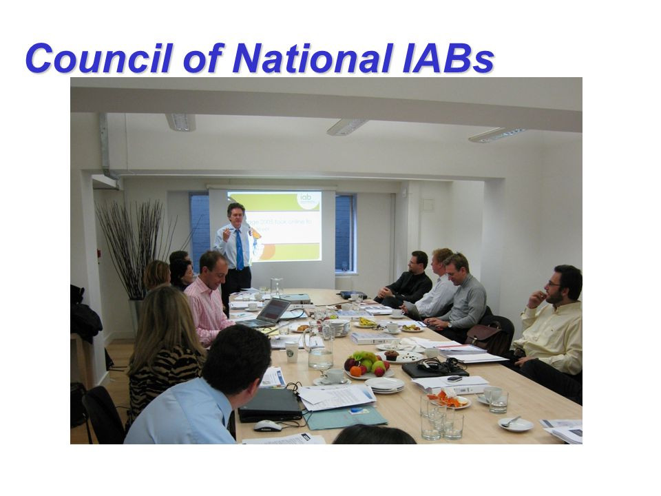 IAB Europe's acceleration plan: April 05 – February 07 Council of National IABs