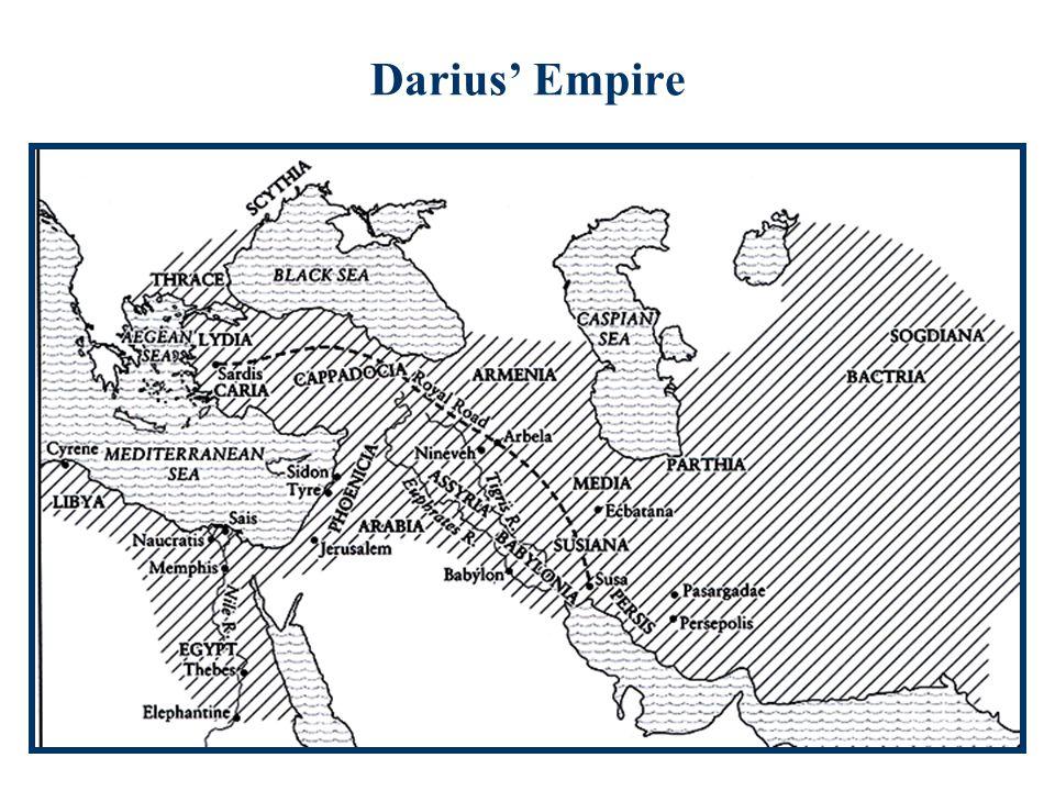 Darius' Empire