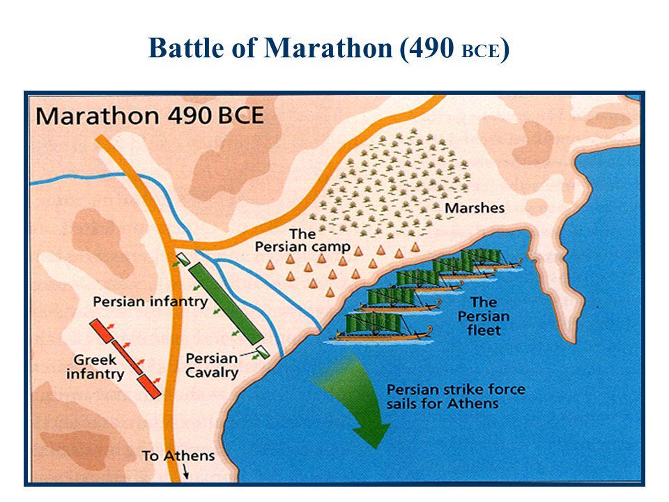 Battle of Marathon (490 BCE )