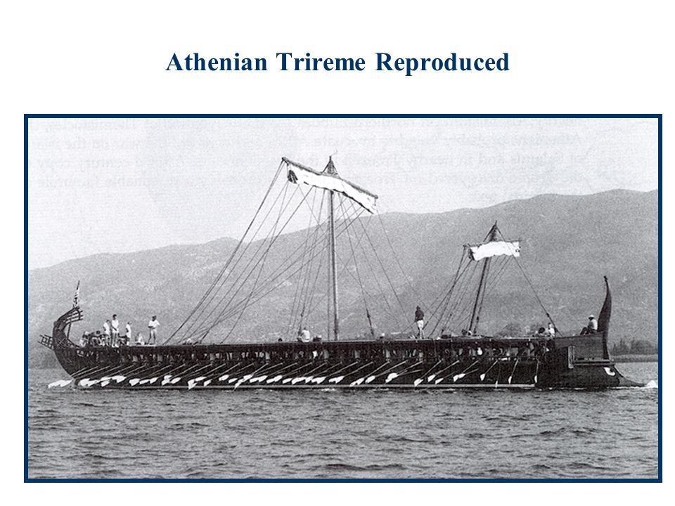 Athenian Trireme Reproduced