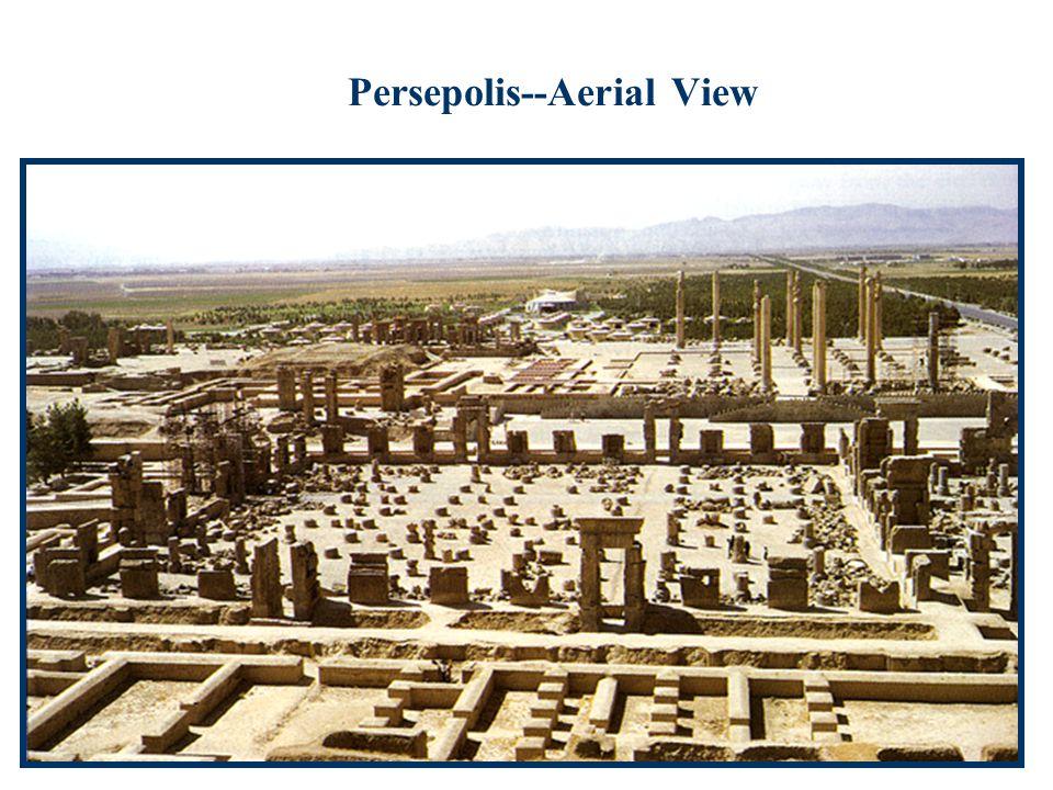 Persepolis--Aerial View