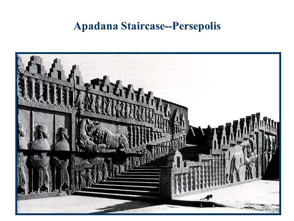 Apadana Staircase--Persepolis