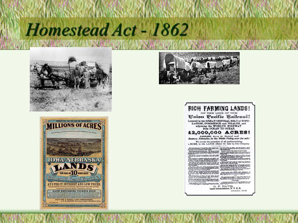 Morrill Act - 1862