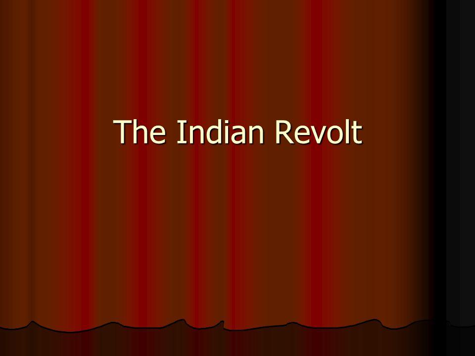 The Indian Revolt