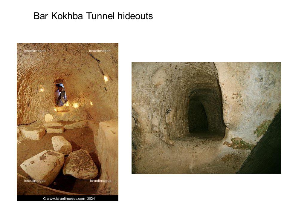 Bar Kokhba Tunnel hideouts