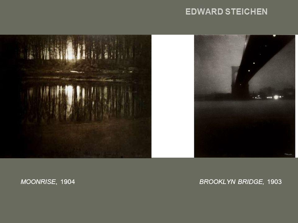 EDWARD STEICHEN MOONRISE, 1904 BROOKLYN BRIDGE, 1903