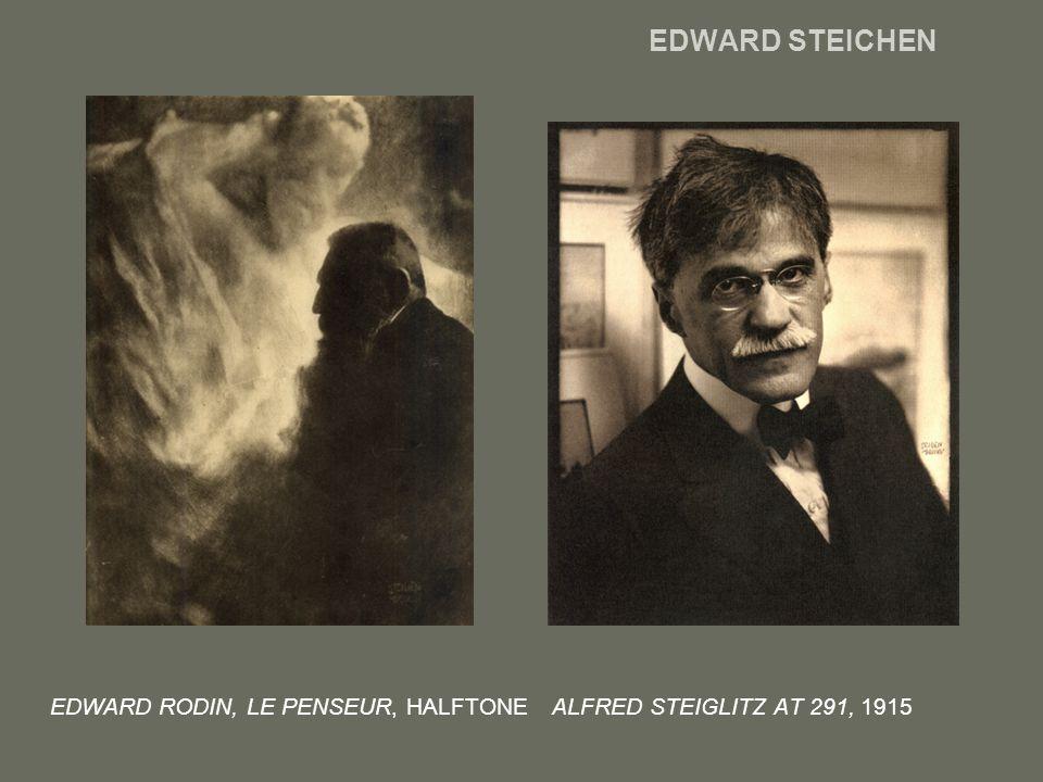 EDWARD STEICHEN EDWARD RODIN, LE PENSEUR, HALFTONE ALFRED STEIGLITZ AT 291, 1915