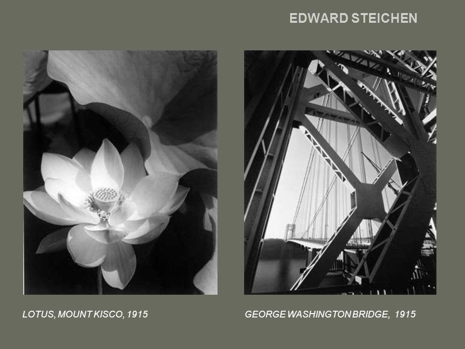 EDWARD STEICHEN LOTUS, MOUNT KISCO, 1915 GEORGE WASHINGTON BRIDGE, 1915
