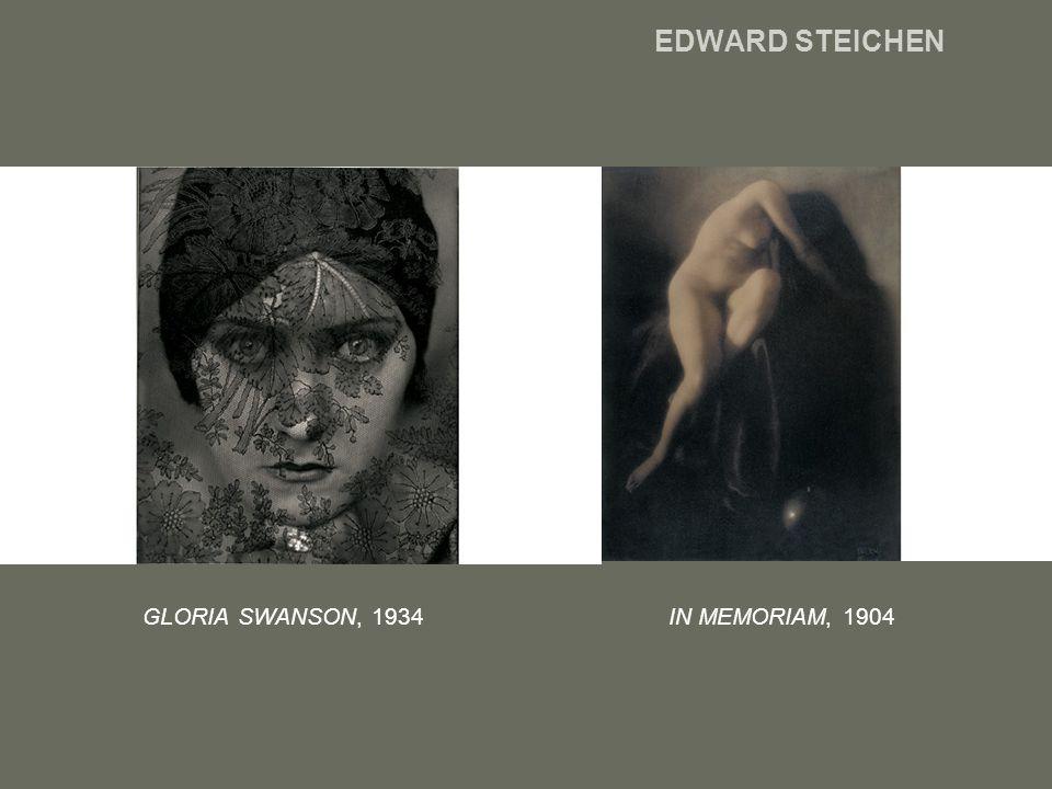 EDWARD STEICHEN GLORIA SWANSON, 1934 IN MEMORIAM, 1904