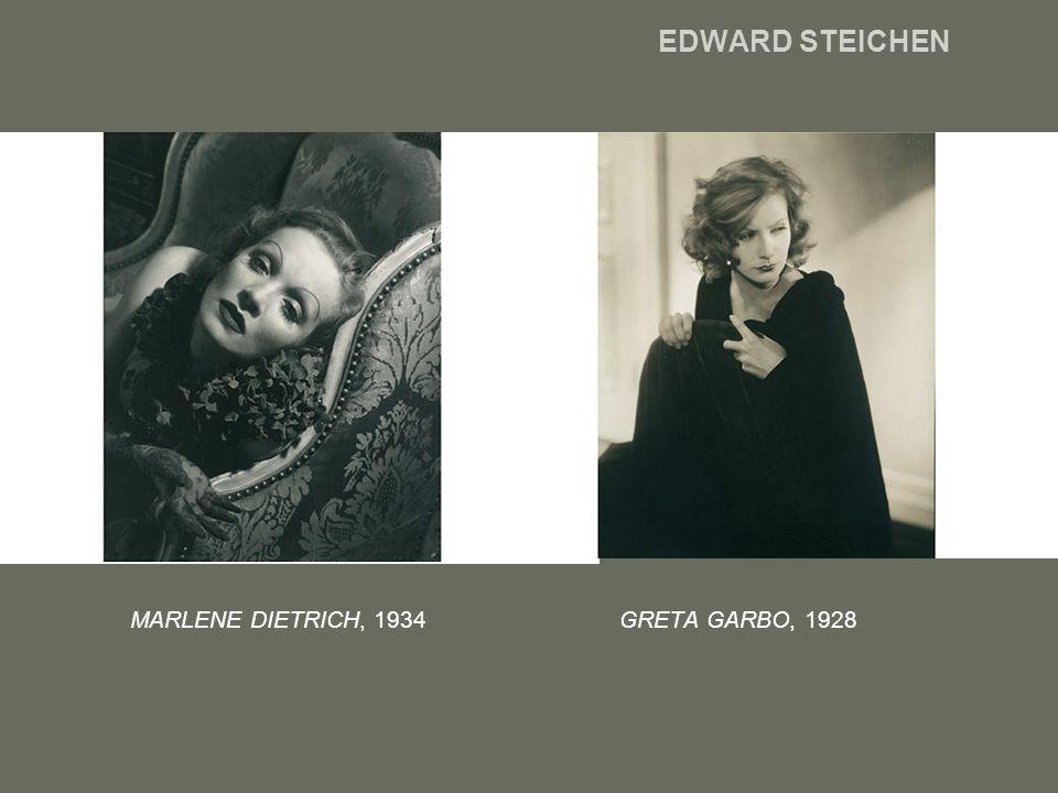 EDWARD STEICHEN MARLENE DIETRICH, 1934 GRETA GARBO, 1928