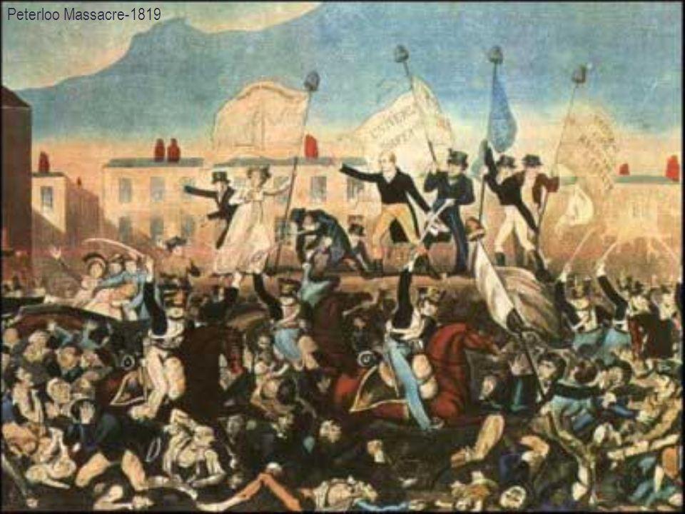 Peterloo Massacre-1819