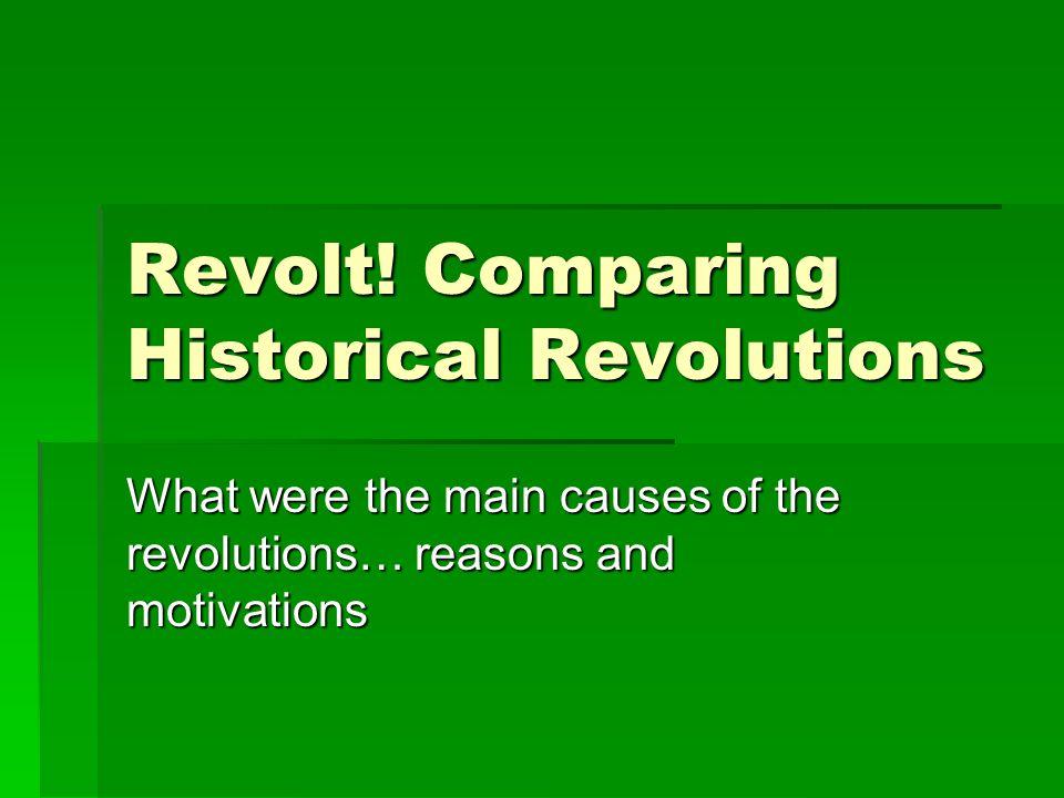 Revolt.