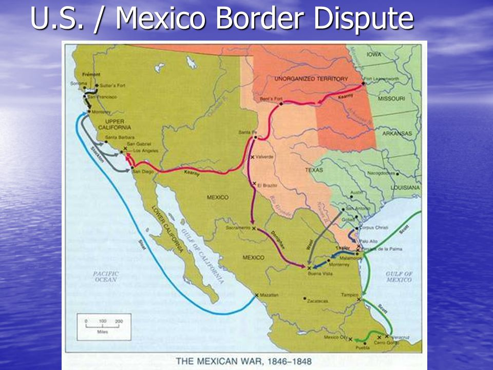 U.S. / Mexico Border Dispute