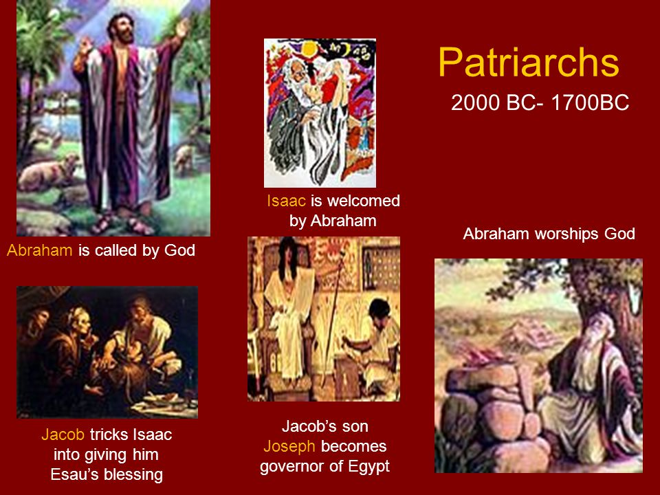 Exodus Passover Miracle of the Red Sea The Ten Commandments 1700BC-1280 BC