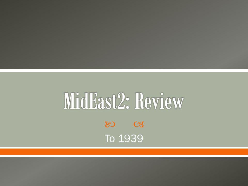  To 1939