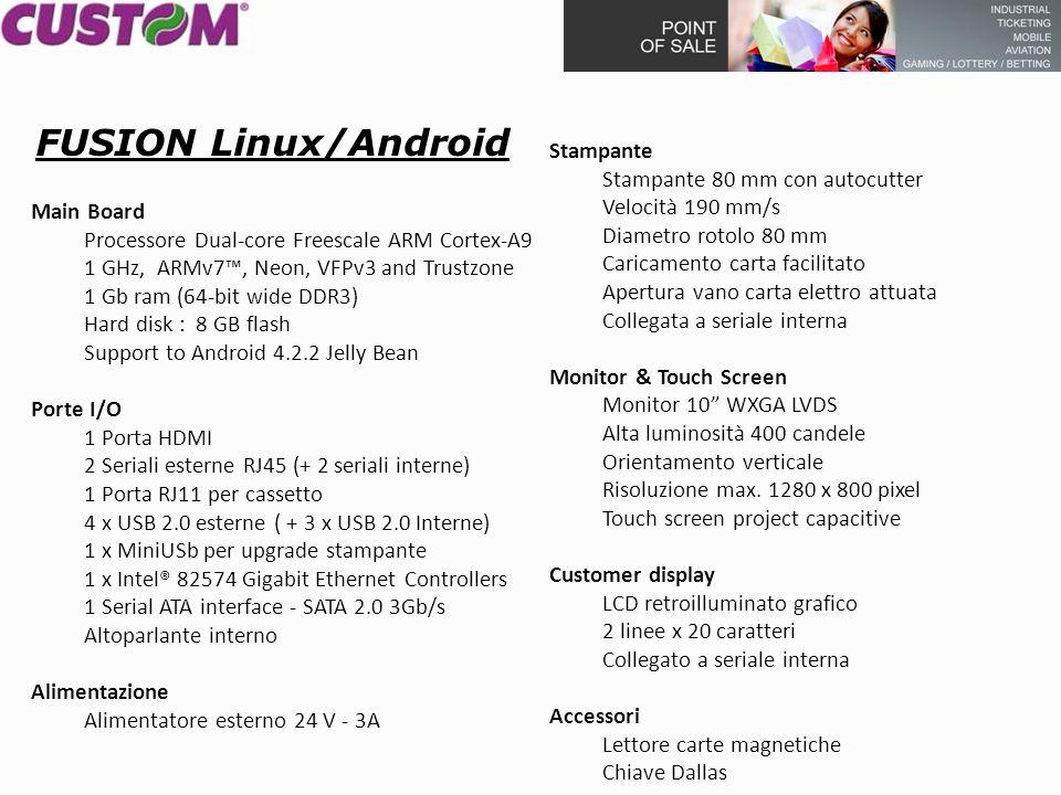 Main Board Processore Dual-core Freescale ARM Cortex-A9 1 GHz, ARMv7™, Neon, VFPv3 and Trustzone 1 Gb ram (64-bit wide DDR3) Hard disk : 8 GB flash Su