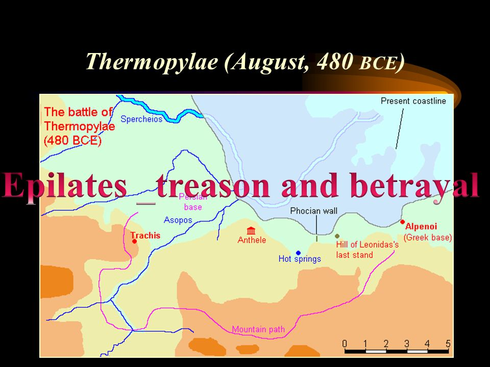 Thermopylae (August, 480 BCE )