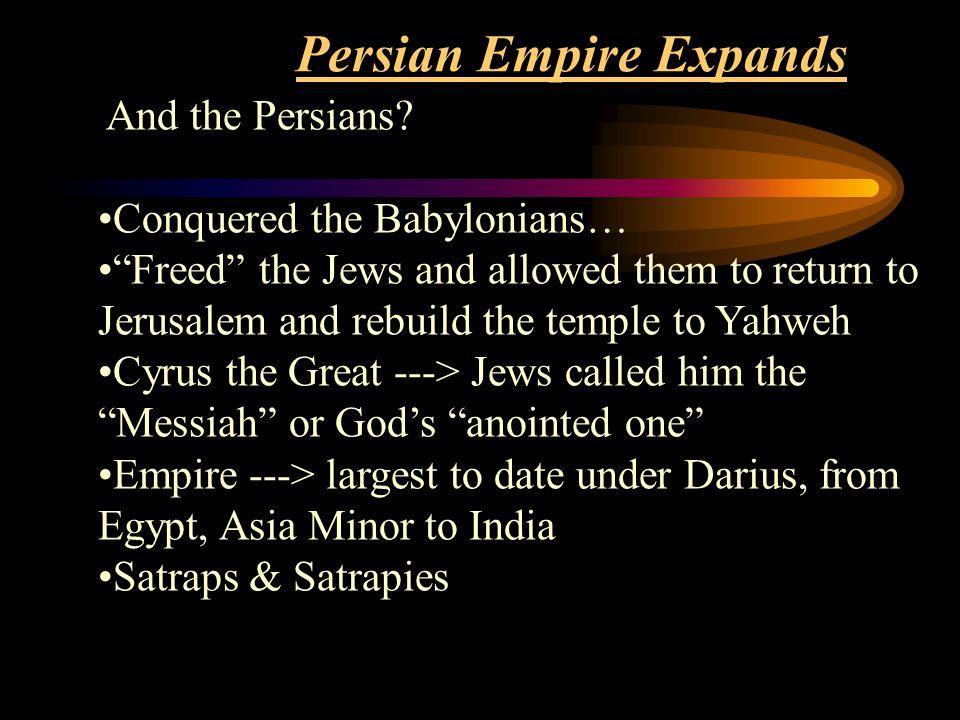 Persian Empire Expands
