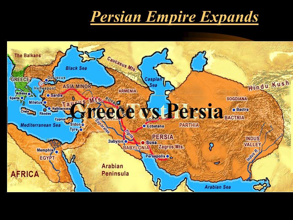 Ionian Revolt, 499-493 Cyrus sent messages to the Ionians demanding revolt against Lydian rule.