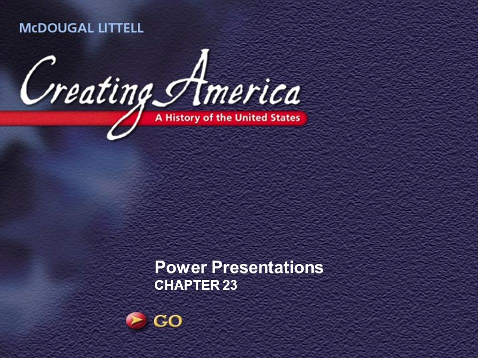 Power Presentations CHAPTER 23