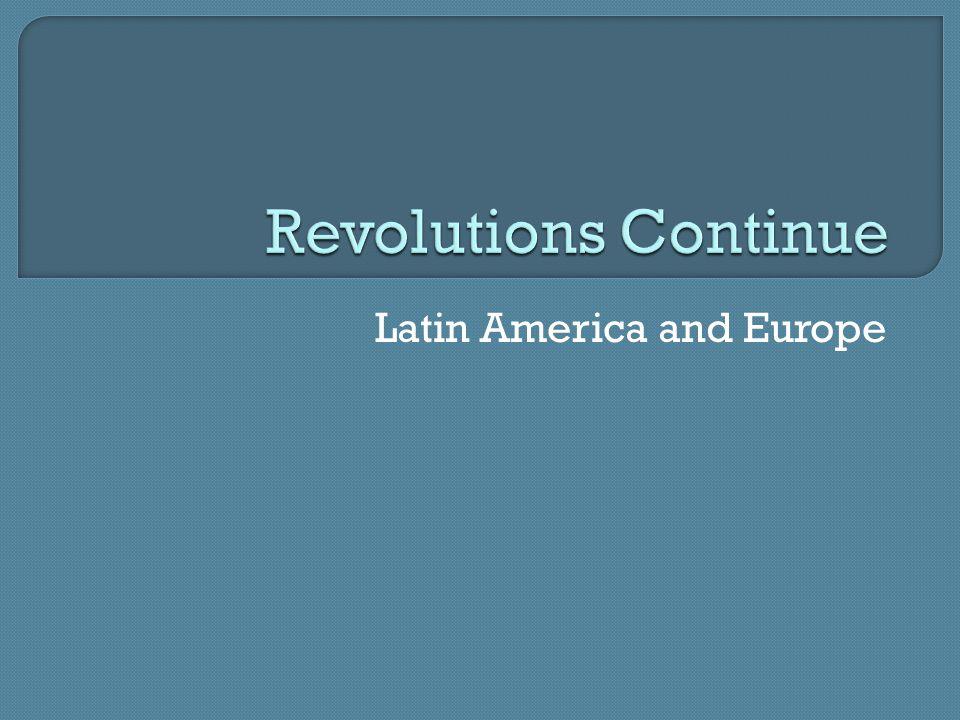 Latin America and Europe