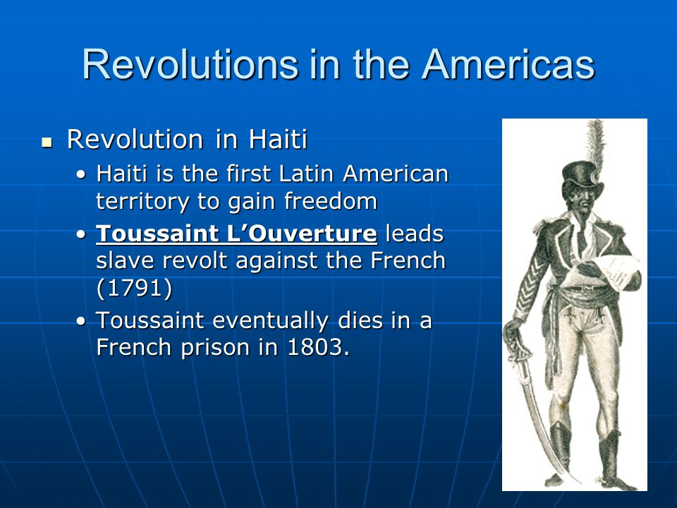 latin america revolution essay Latin american dbq – class set do not explain how the causes of revolution were similar and what does the casta painting say about changes in latin america.