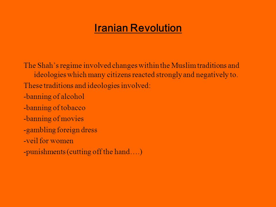 Iranian Revolution HOW was it a proxy war?.