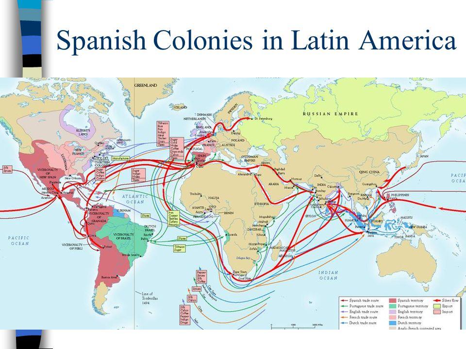 Spanish Colonies in Latin America