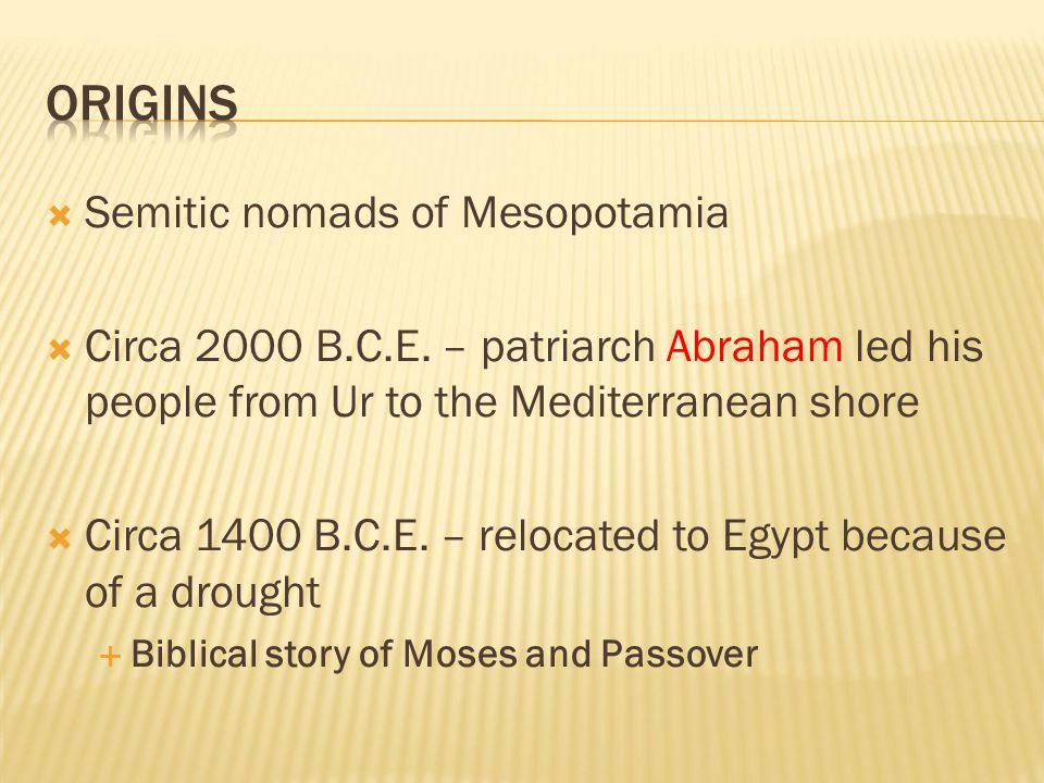  Originally ruled by judges, tribal elders, or rabbis  King Saul  Reigned circa 1047-circa 1007 B.C.E.