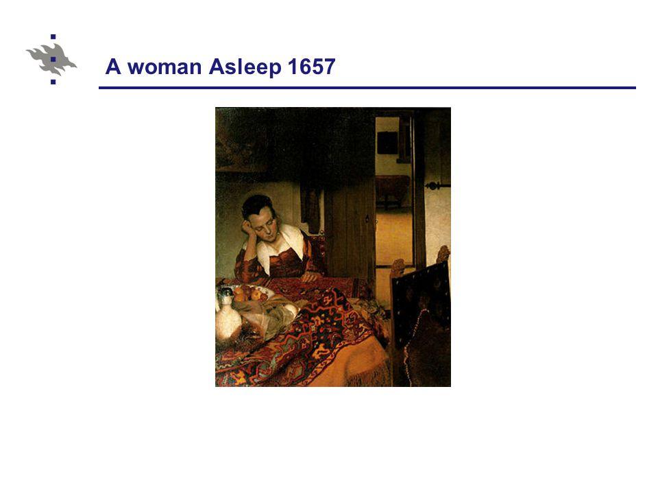 A woman Asleep 1657