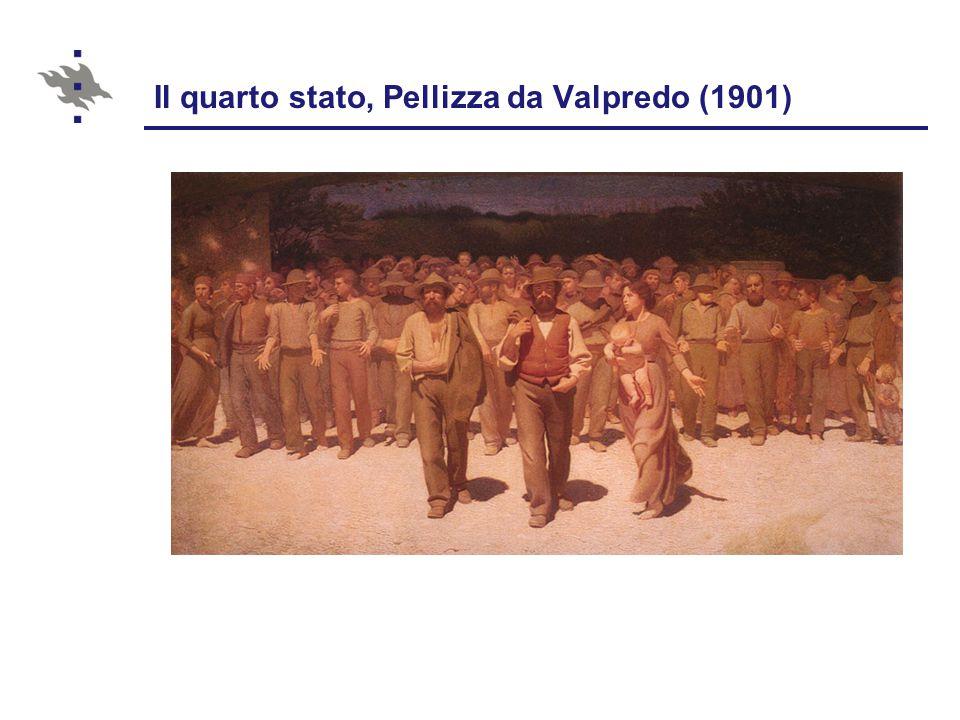 Il quarto stato, Pellizza da Valpredo (1901)