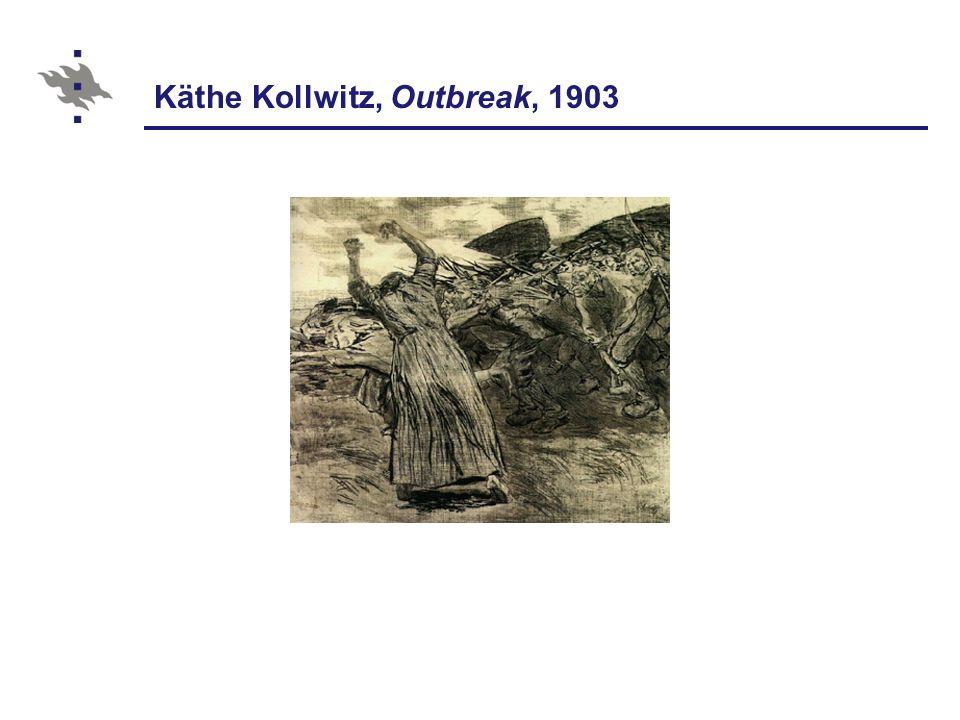 Käthe Kollwitz, Outbreak, 1903