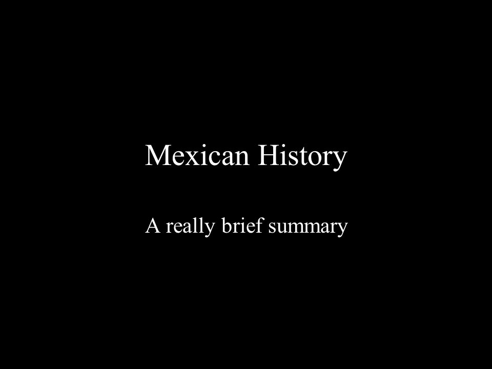 There are 3 major time periods in Mexico's History Pre Colonial Colonial Post Colonial These time periods can be remembered using the Plaza de Tres Culturas (Plaza of three cultures) located in Mexico City