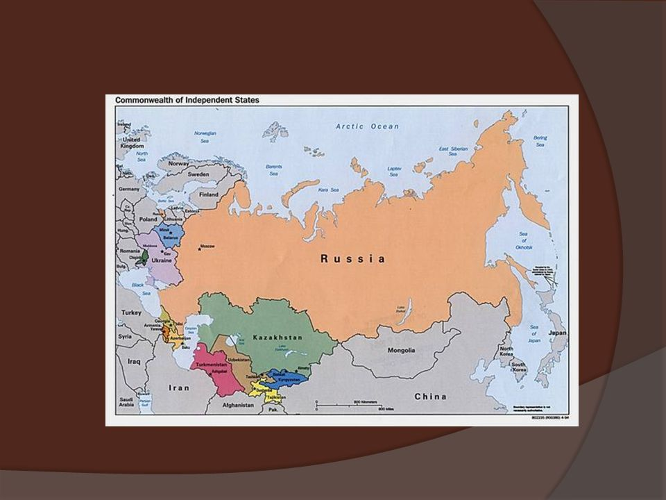 THE USSR  Lenin changes name of Russia to USSR (1922)  Union of Soviet Socialist Republics