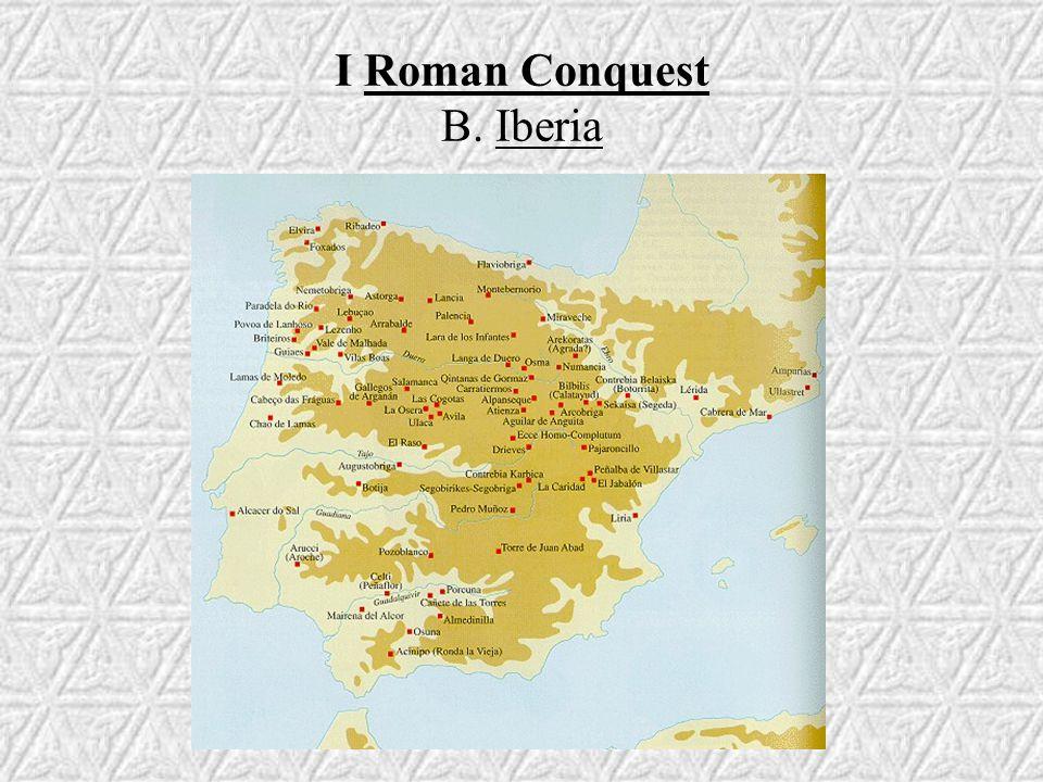 III Conquest of Britain A. Claudius (AD 43)