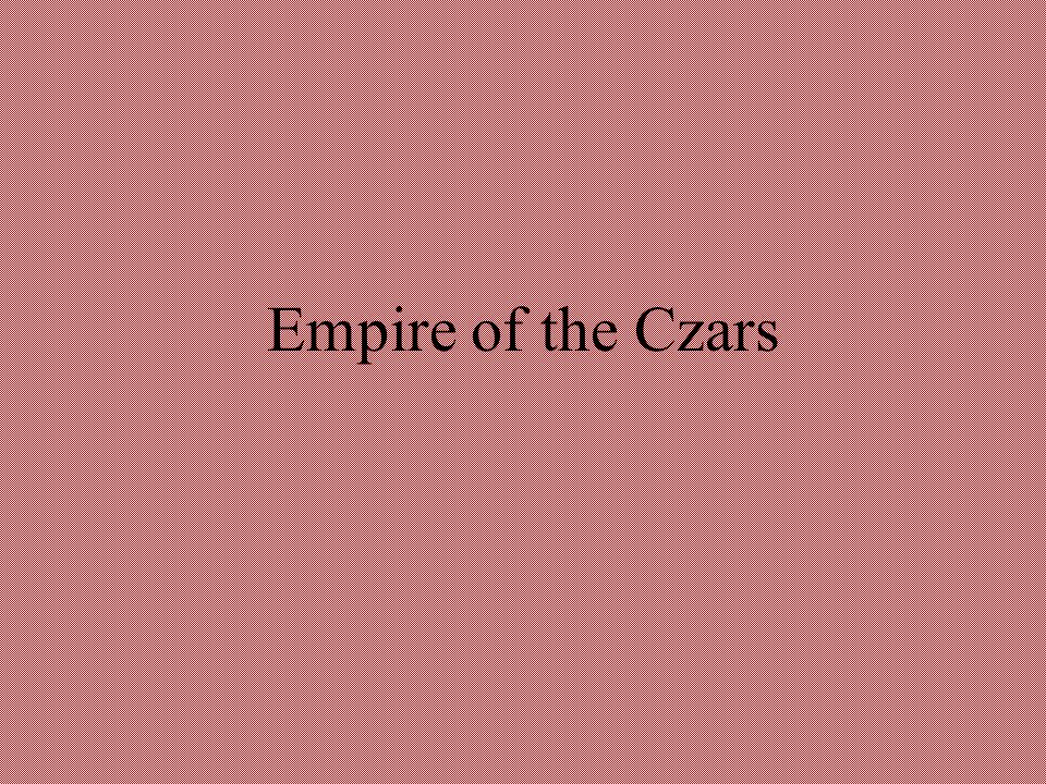 Empire of the Czars