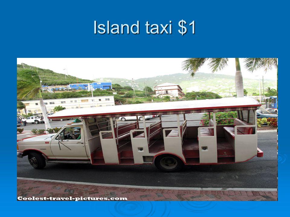 Island taxi $1
