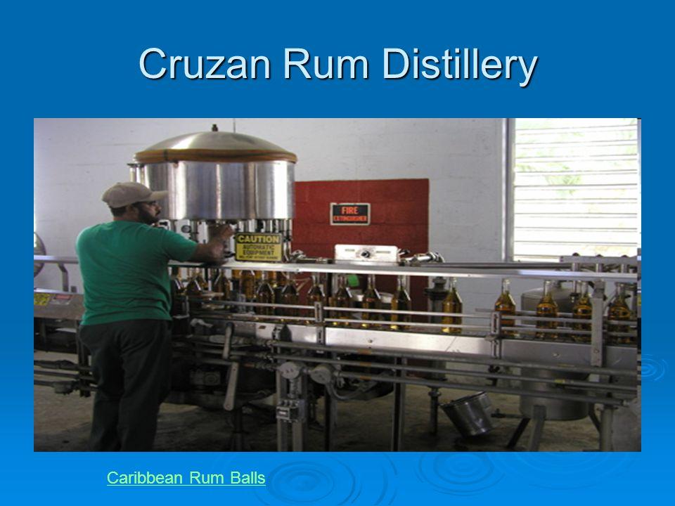 Cruzan Rum Distillery Caribbean Rum Balls