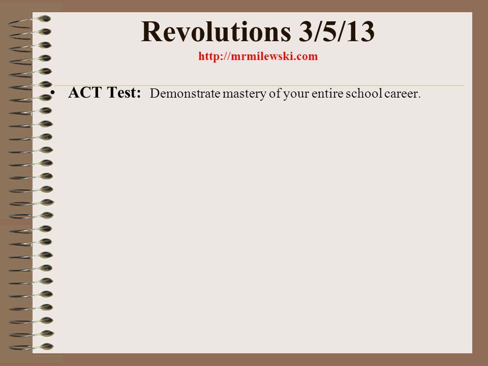 Revolutionary Movements Decembrist Revolt – 1825 *Goal – set up a republic Mid –1860s *Goal – establish socialism Who were the revolutionaries.
