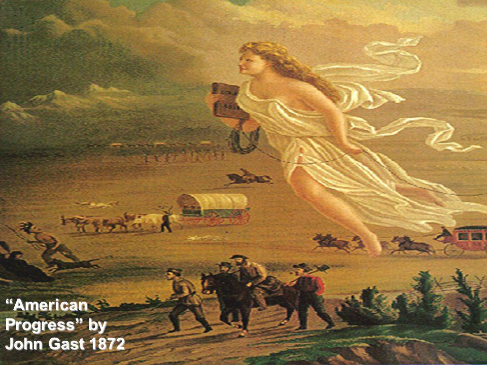 American Progress by John Gast 1872